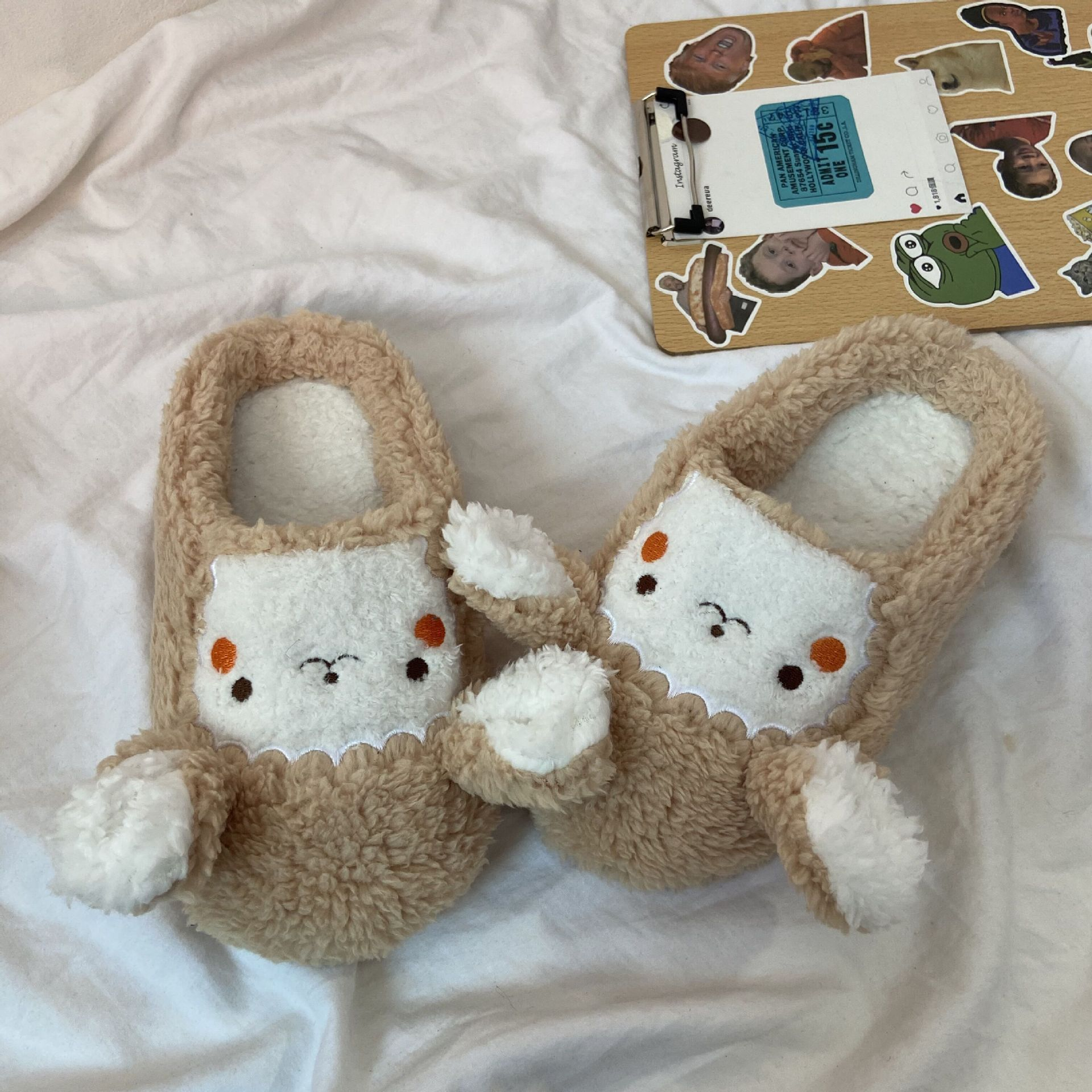 Adorable and Soft Sheep Slipper for Home Daily Use