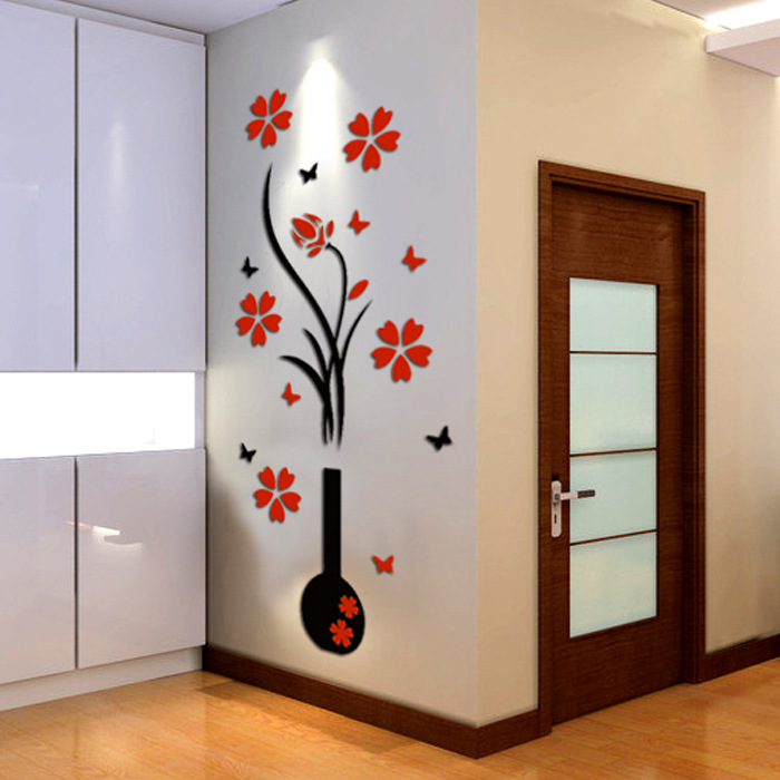 Attractive Wall Sticker for Plain Walls