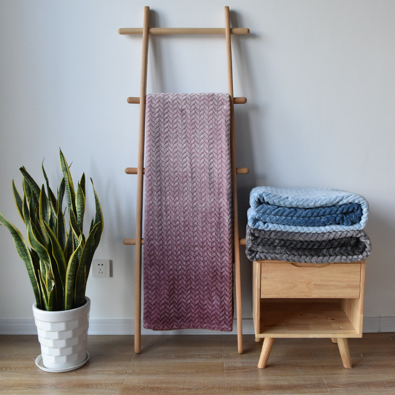 Cozy Wheat Pattern Blankets for Nap Time