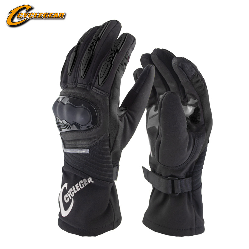 Durable Nylon Motorcycle Gloves for Outdoor Use