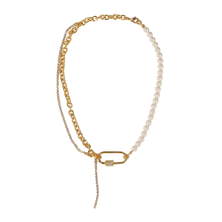 Astonishing Three Chain Necklace for Matching All of Your Outfits