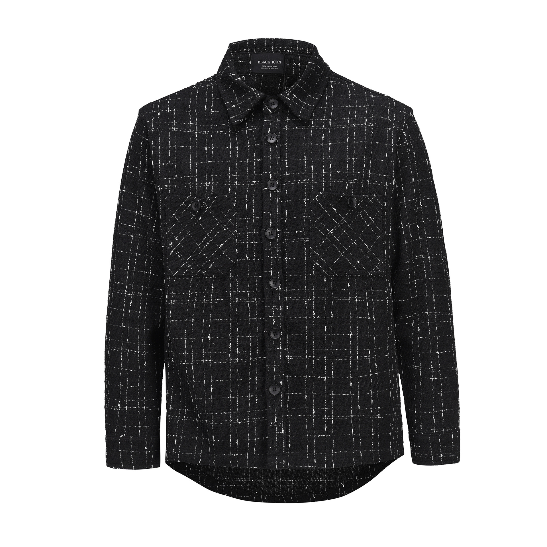 Rustic Check Shirt Jacket for Autumn and Winter Fashion