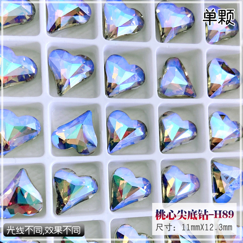 Dazzling Synthetic Crystal Diamond for Fancy-Looking Do-It-Yourself Jewelries