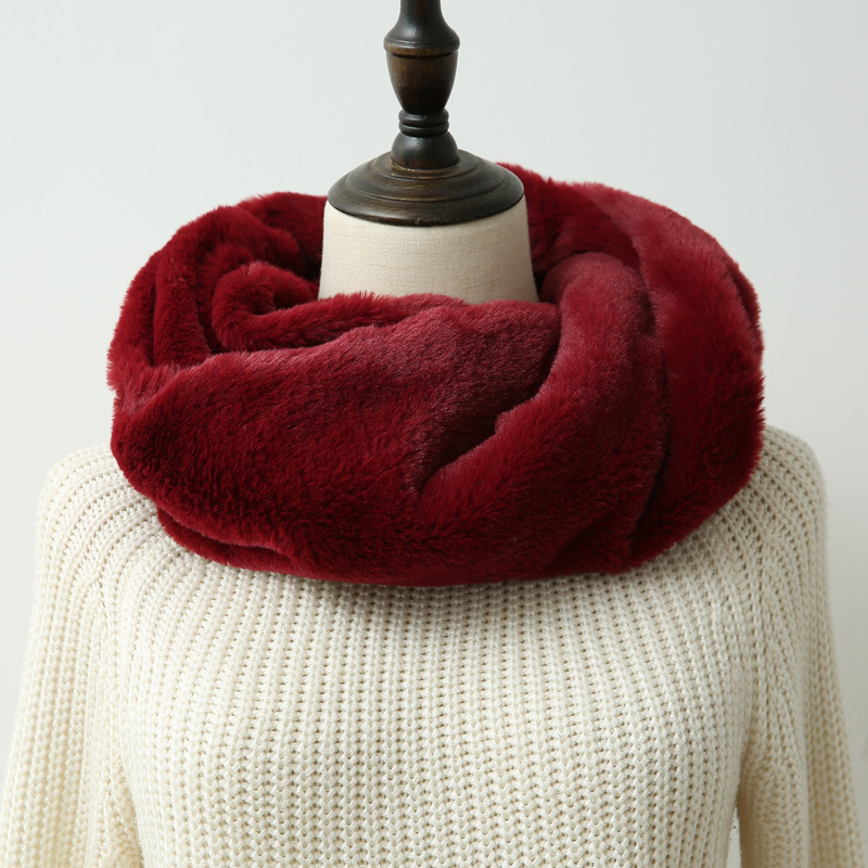 Thick, Soft, and Fluffy Scarf for the Winter Season