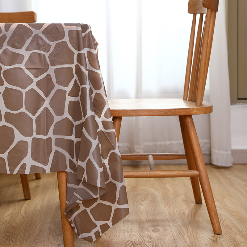Waterproof Printed Tablecloth for Eclectic Home Décor