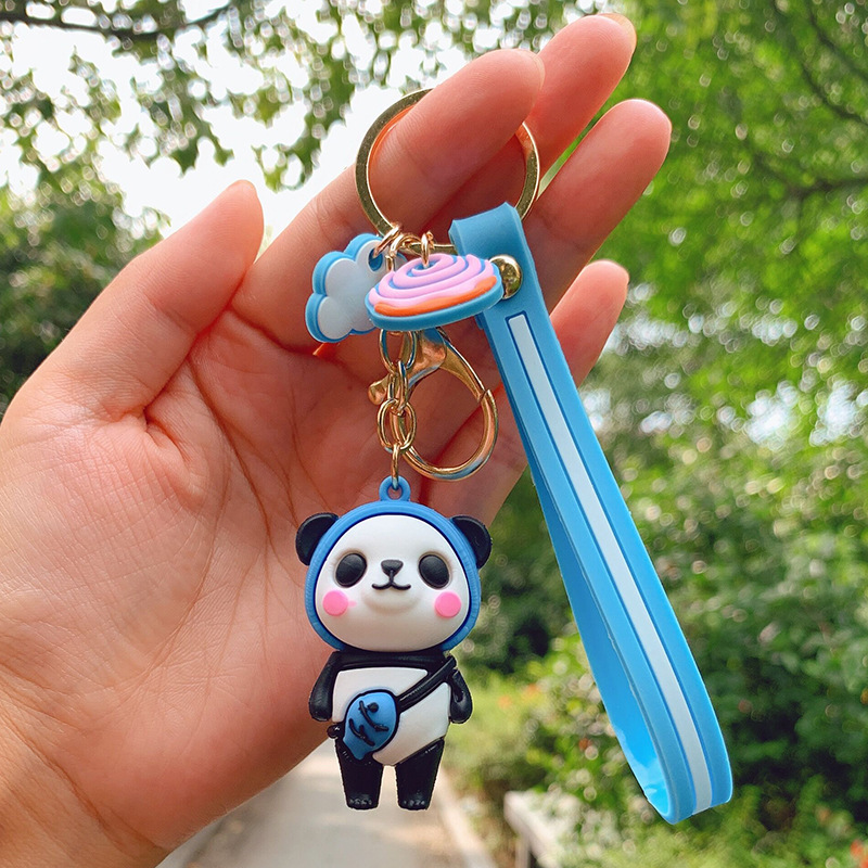 Cute and Colorful Keychain for Keeping Keys Gathered and Secured
