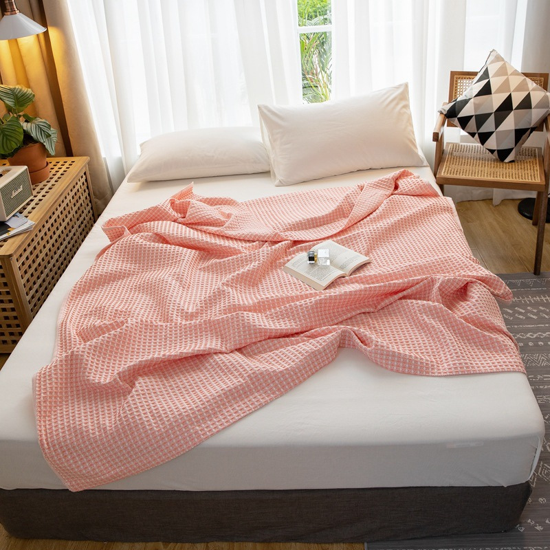 Plain Color Soft and Comfy Wide Blanket for Gift Giving