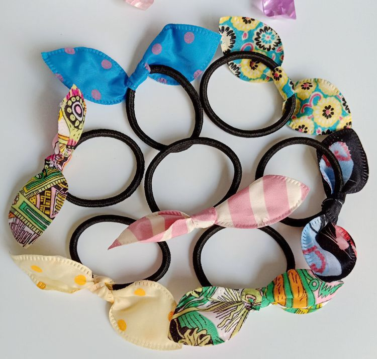 Cute Ribbon Style Hairties for Women