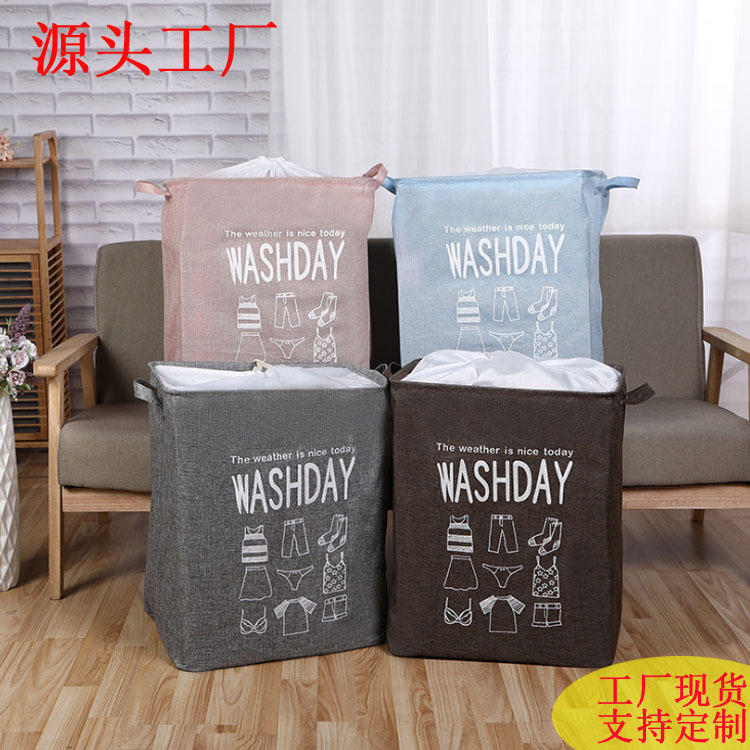 Dust-Proof Storage Box for Organizing Clothes on Washday
