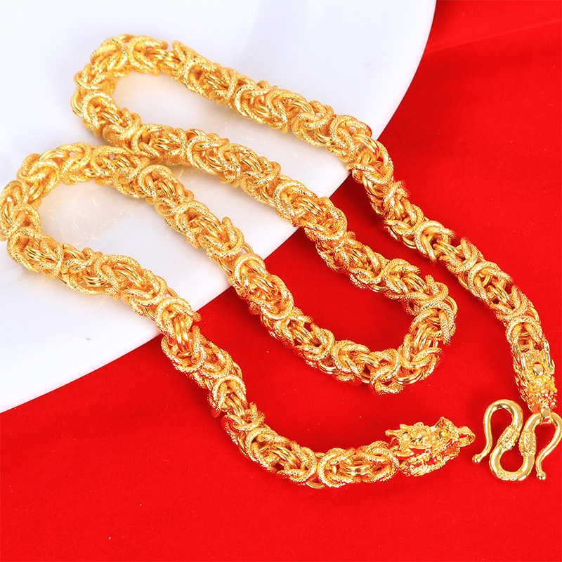 Posh Byzantine Chain Necklace for Chic Street Style Accessories