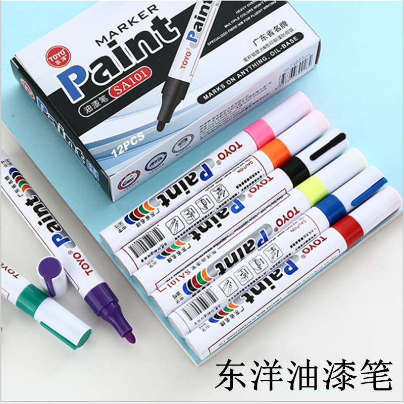 Basic Colored Paint Pen for Office Use