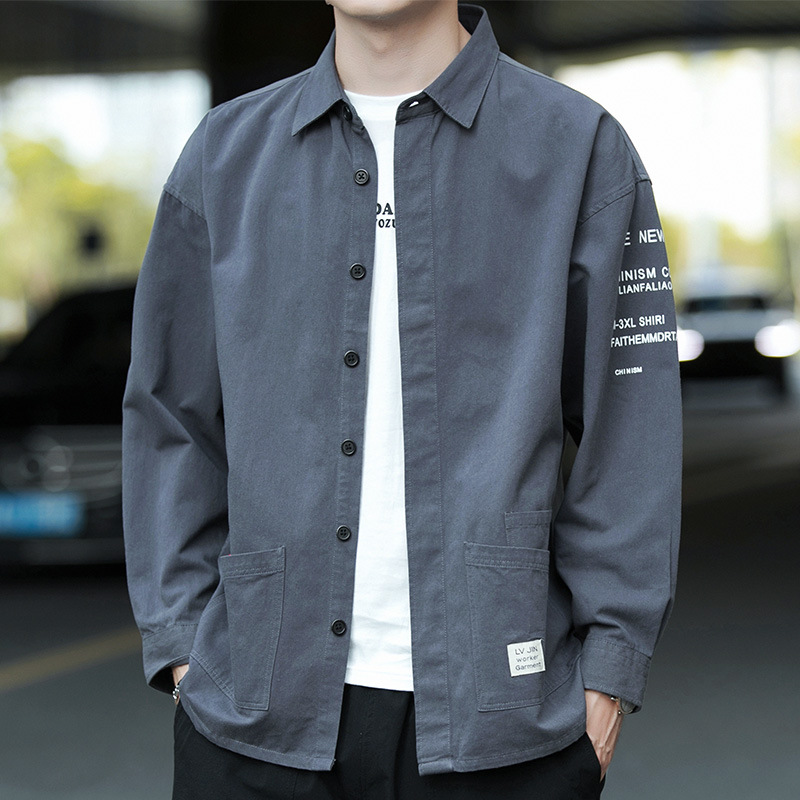 Warm And Thick Tooling Long Sleeve Shirt for Workwear