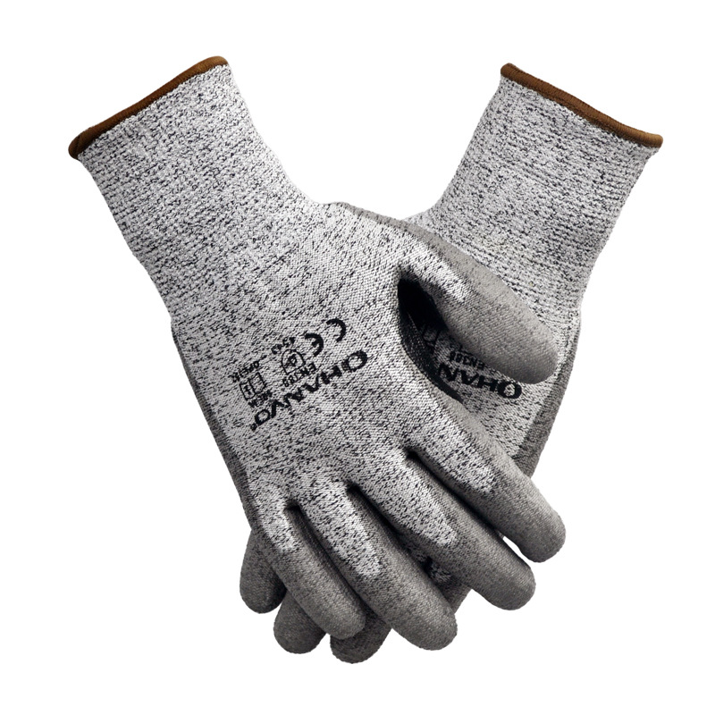 Classic PU Non-Slip Gloves for Household Use