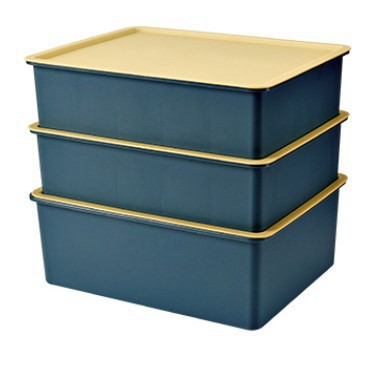 Stackable Multi Compartment Storage Box for Underwear and Socks