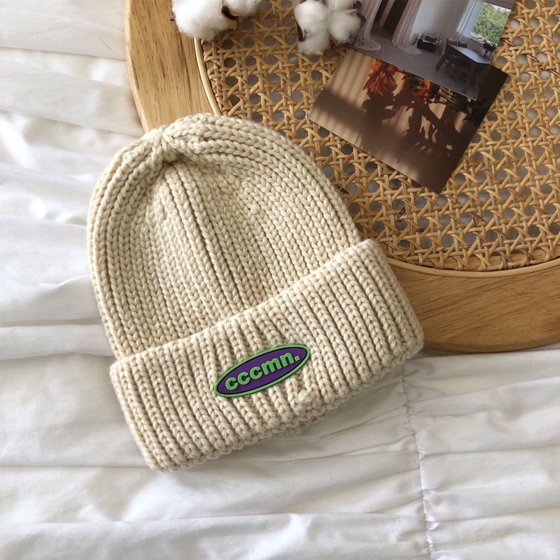 Nifty Single Color Knitted Beanie for Keeping Your Ears and Head Warm