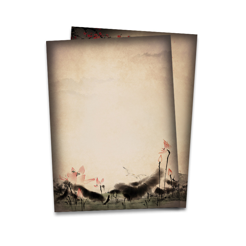 Creative Stationery Paper for Writing Letters