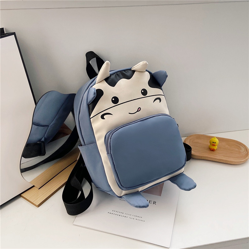 Cutie Cow Backpack for Children's Use