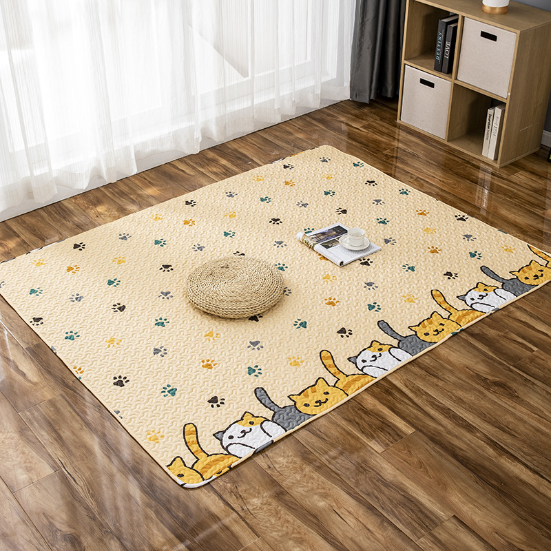Colorful Print Moisture-Proof Scratch Resistant Mats for Bedroom Supplies
