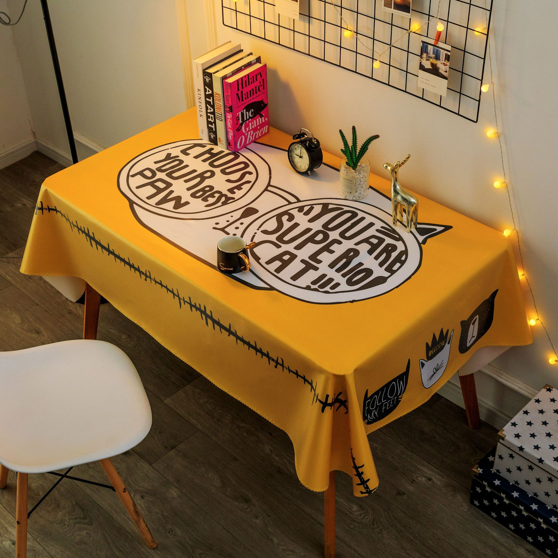 Captivating Waterproof Tablecloth for Improving Elegance
