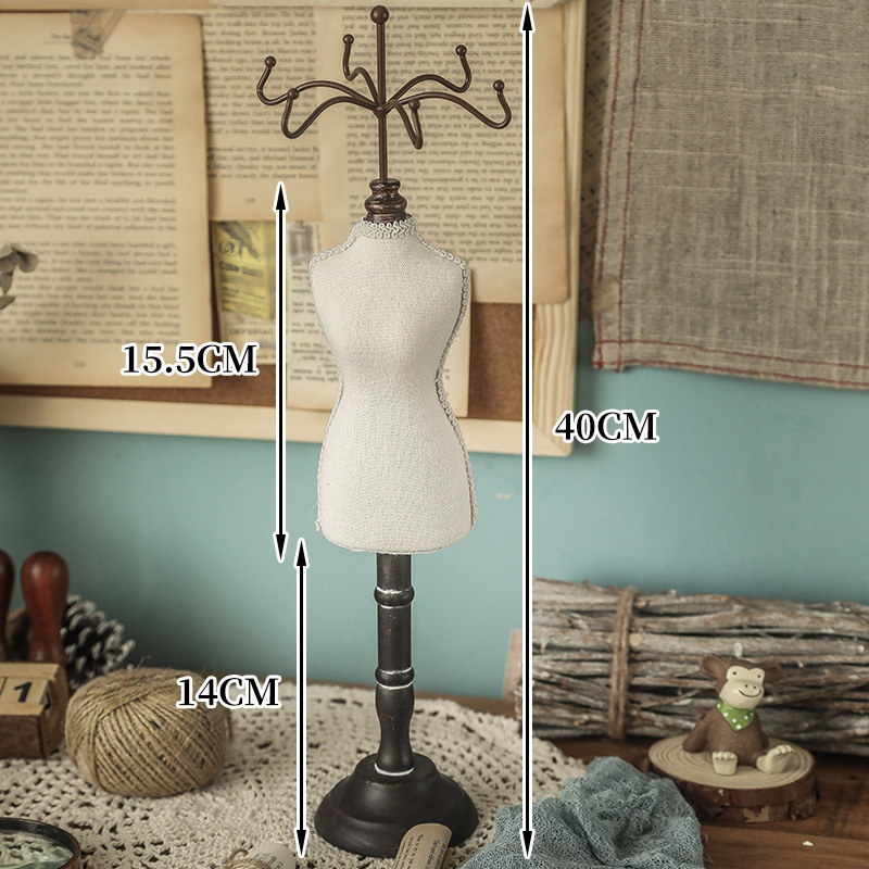 Adorable Small Mannequin Rack for Jewelries