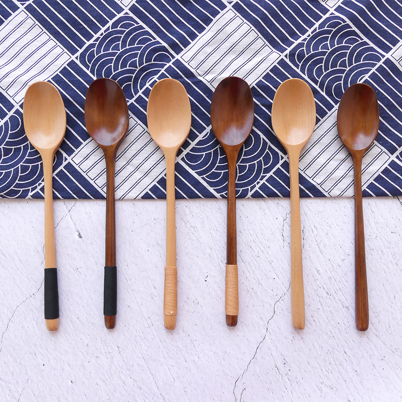 Rustic Wooden Spoon for Kitchen