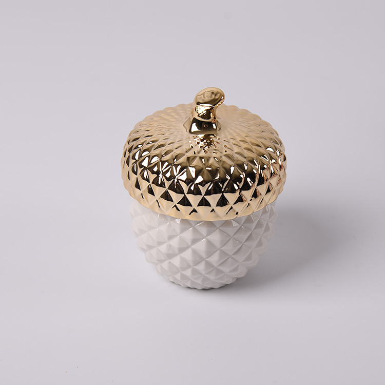 Extremely Great Nordic Porcelain Pine Cone Storage for Well-Served Candies