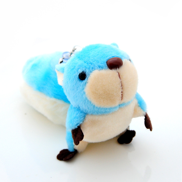 Cute Squirrel Plush Keychain for Parting Gift