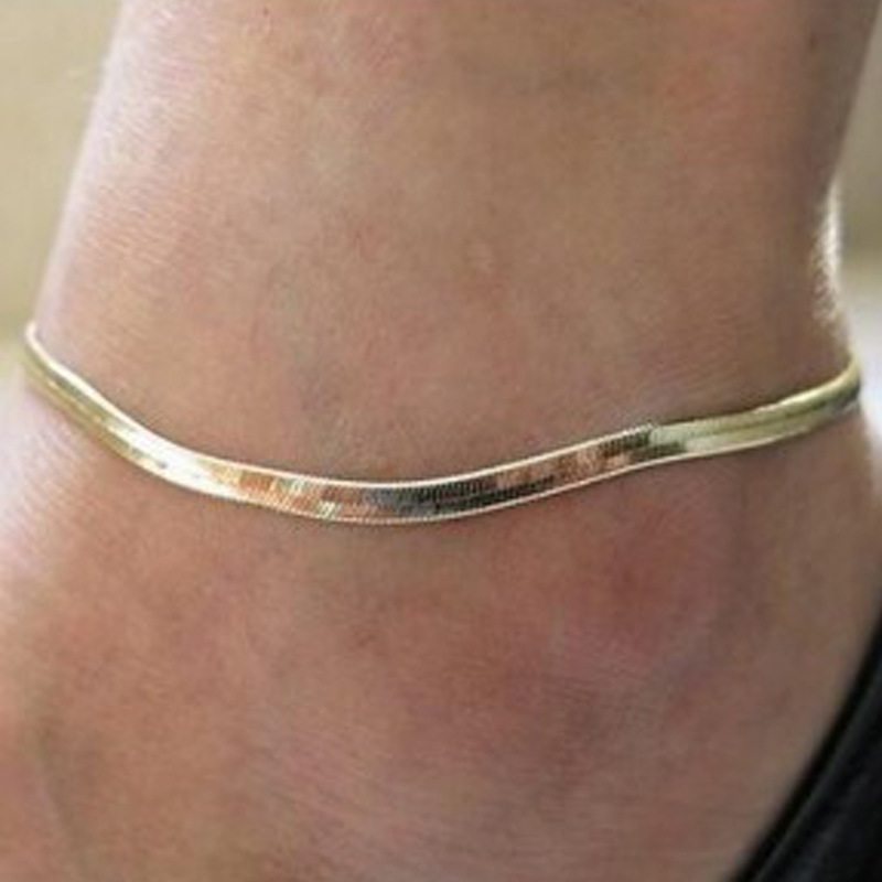 Dandy Snake Chain Anklet for Foot Beautification