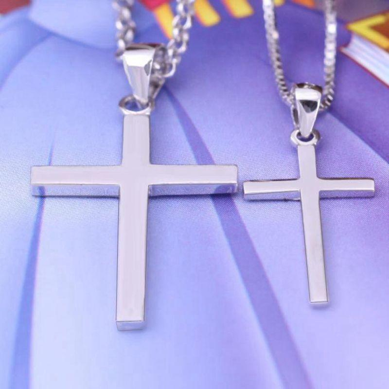 Sterling Silver Basic Cross