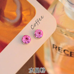 Sparkly Stud Earrings for Everyday Casual Wear