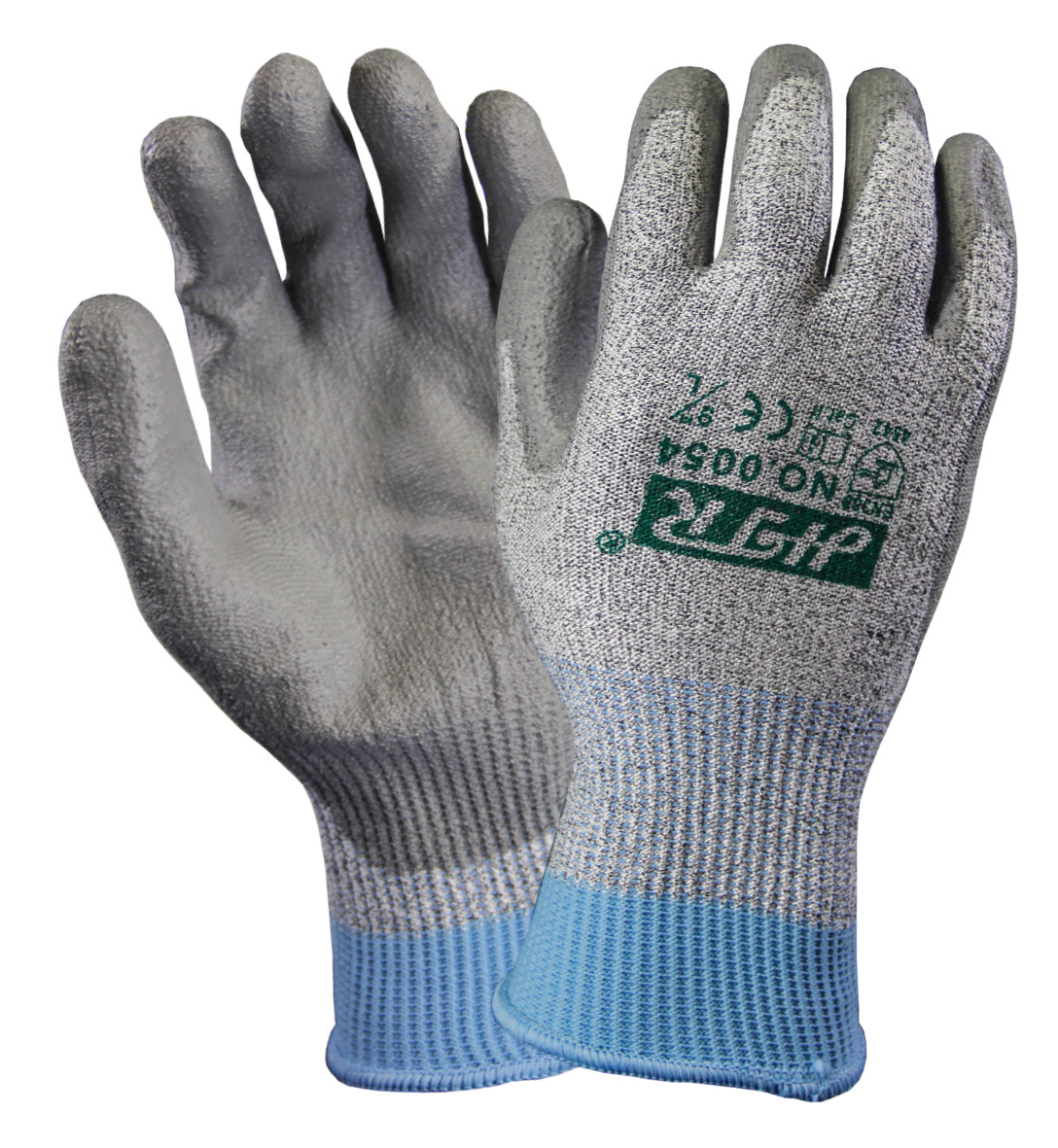 Thick Special Cut-Resistant Fiber Gloves for Industrial and Mechanical Safety