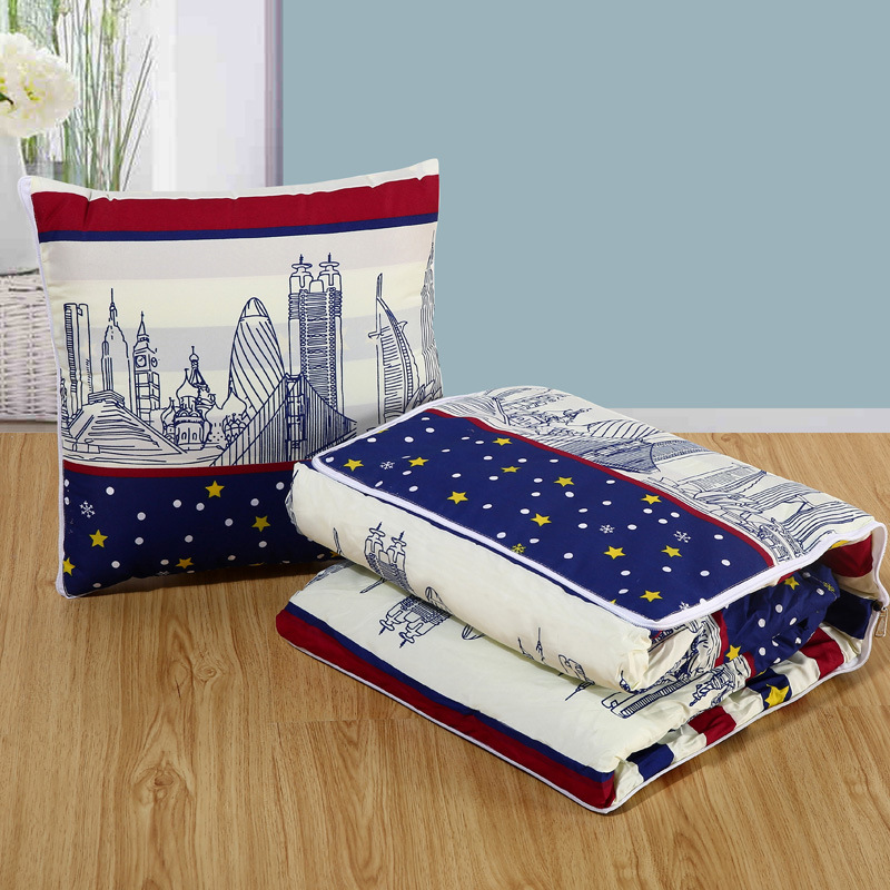 Multifunctional Polyester Pillow Quilt