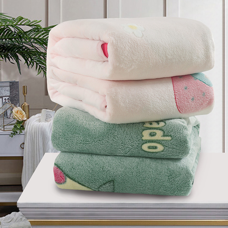 Soft, Fluffy, and Warming Patterned Blanket for Sleeping Comfort