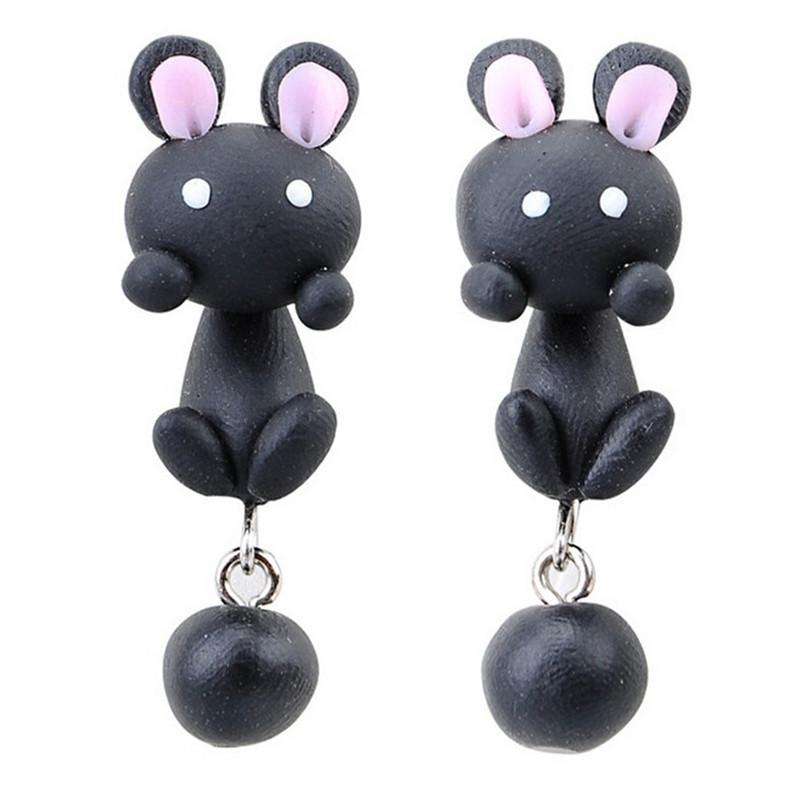 Cute Small Animals Soft Clay Earrings