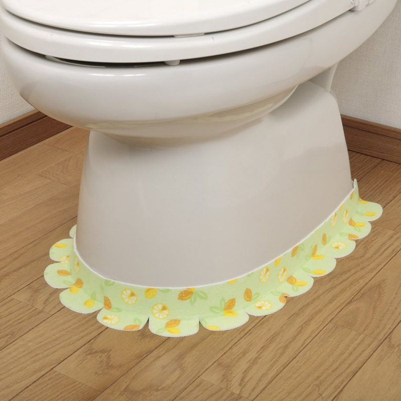 Decorative Printed Toilet Floor Sticker for Home Furnishing