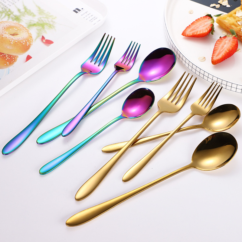 Catrienne Colored Spoons and Forks