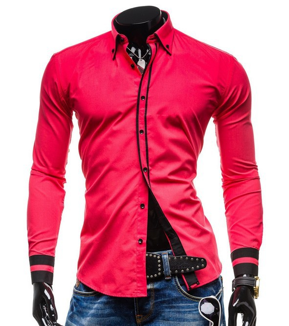 Stylish Lined Long Sleeve Shirt for Casual Fashion