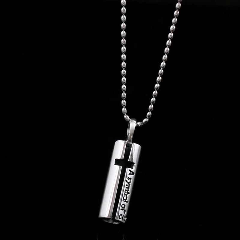 Cross Double Layer Necklace