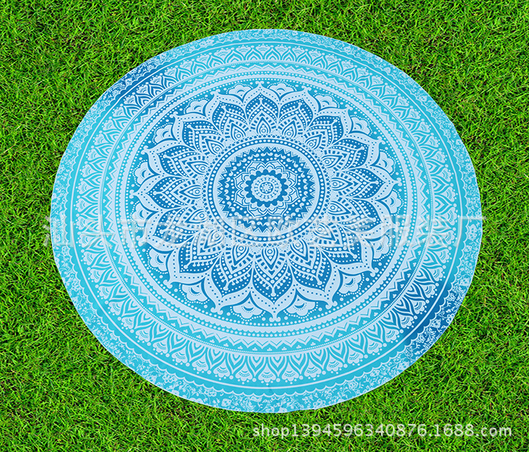 Chic Bright-Colored Bohemian Outdoor Mat for Fun Spring Picnics