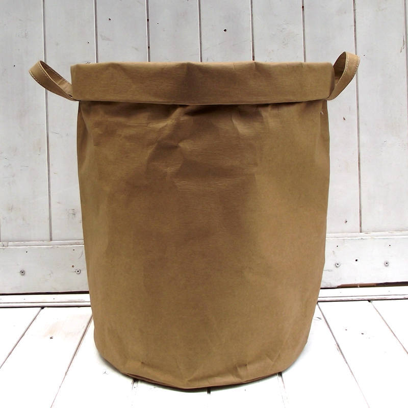 Environmental Paper Kraft Basket for Laundry Clothes