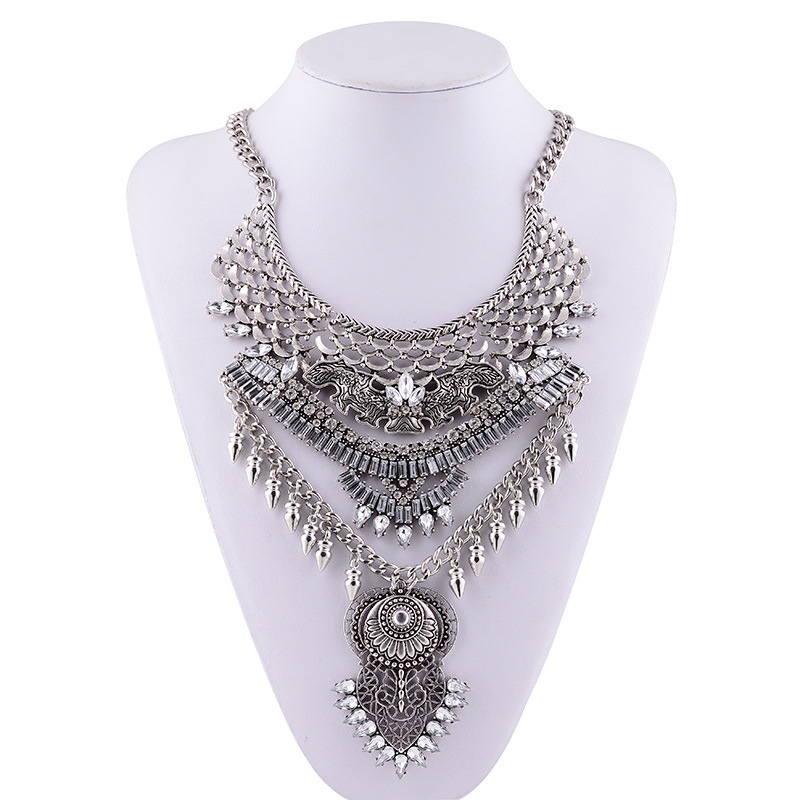 Amazing Multi-Layer Tassel Necklace for Attending Special Events