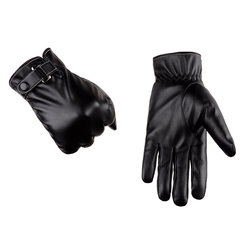 Faux Leather Classy Gloves