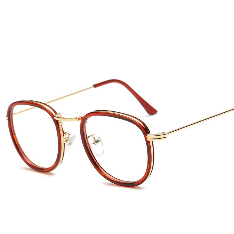 Thick Colored Frame Eyeglasses