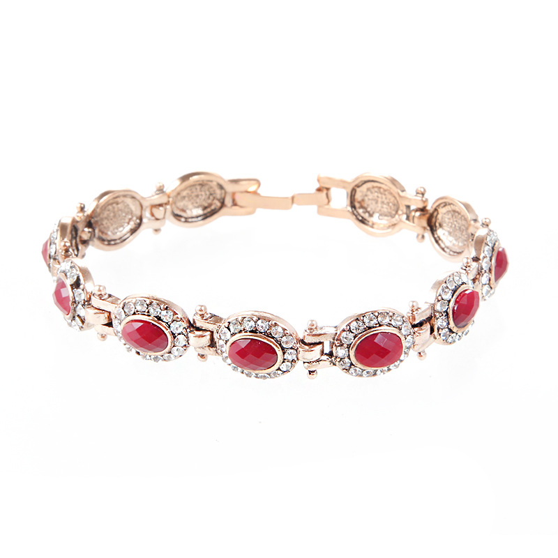 Attractive Bohemian Retro Faux Gold Bracelet for Birthday Gift