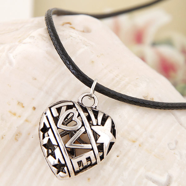 Vintage Style Rope-Like Chain Necklace for Punk Rock Outfit