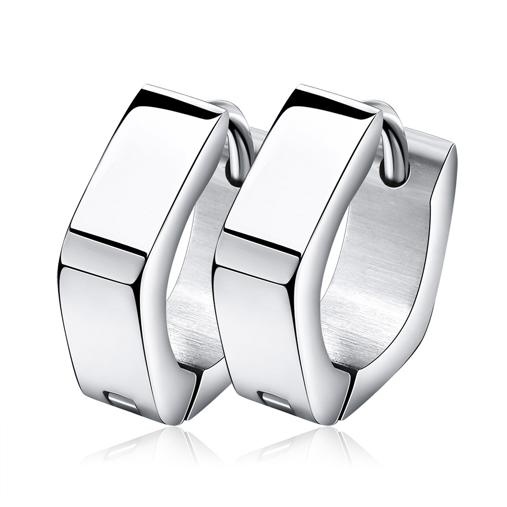Stylish Stainless Steel Earrings for Punk Semblances
