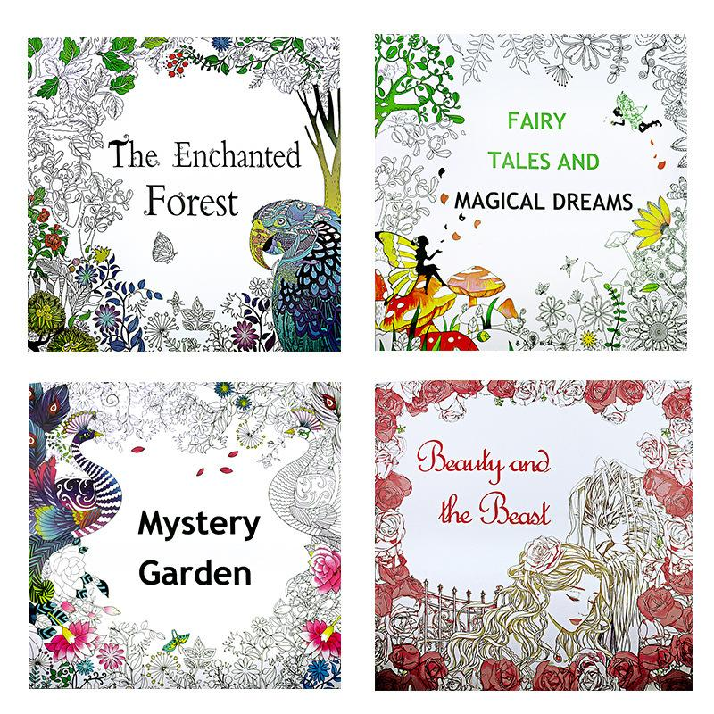 The Enchanted Forest Adult Coloring Book Buy Wholesale Products With No  MOQ - Supplied!