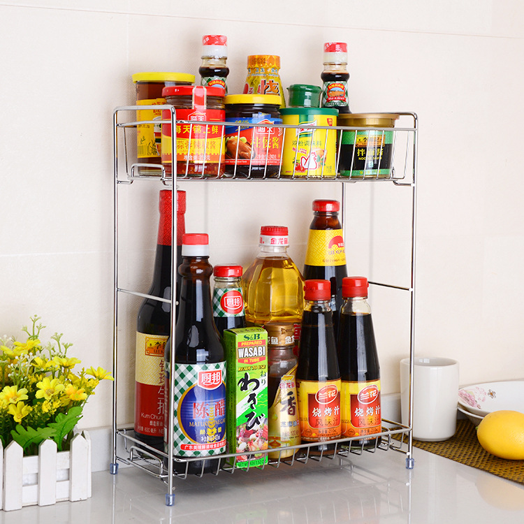 Tall Double Layer Rack for Condiments