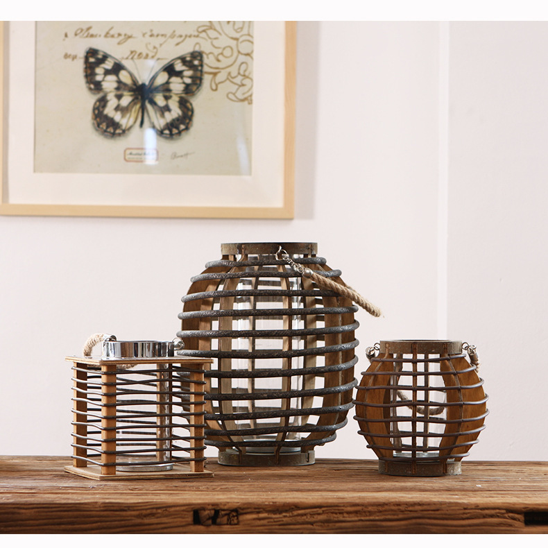 Aesthetic Wooden Candle Holder for Posh Semblances