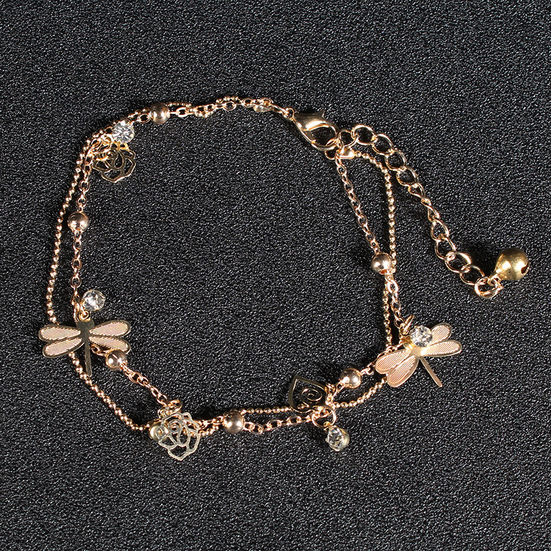 Forest of Dragonflies Anklet